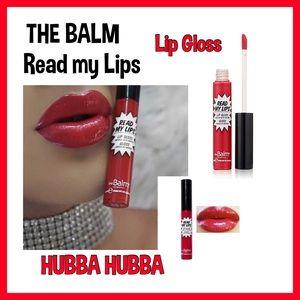 theBalm .....Read my lips 👄 LIPGLOSS.    NWT